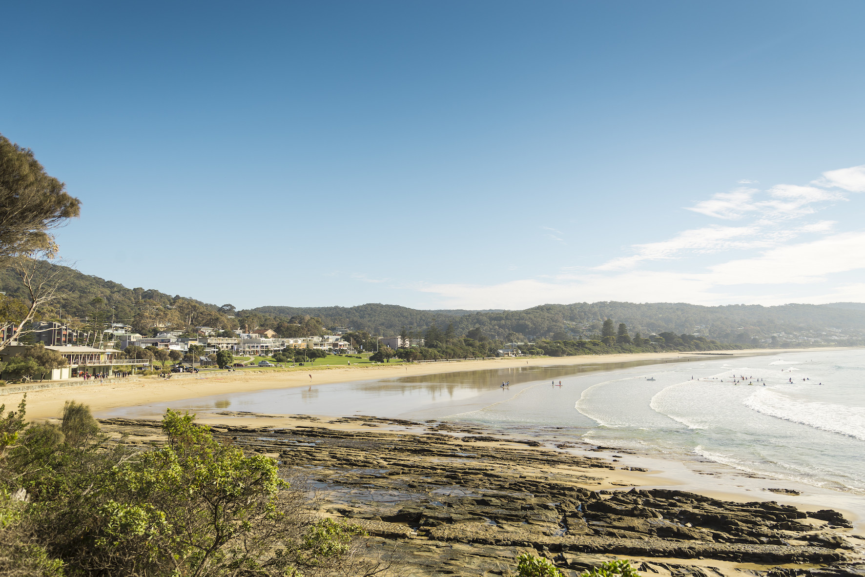 great ocean road tour visits many coastal villages
