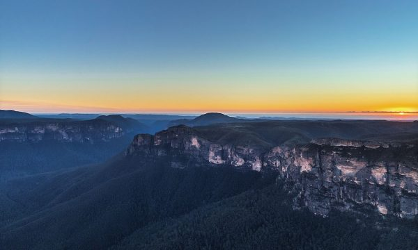 Blue Mountains Sunset Tour watch the sun set over the mountains