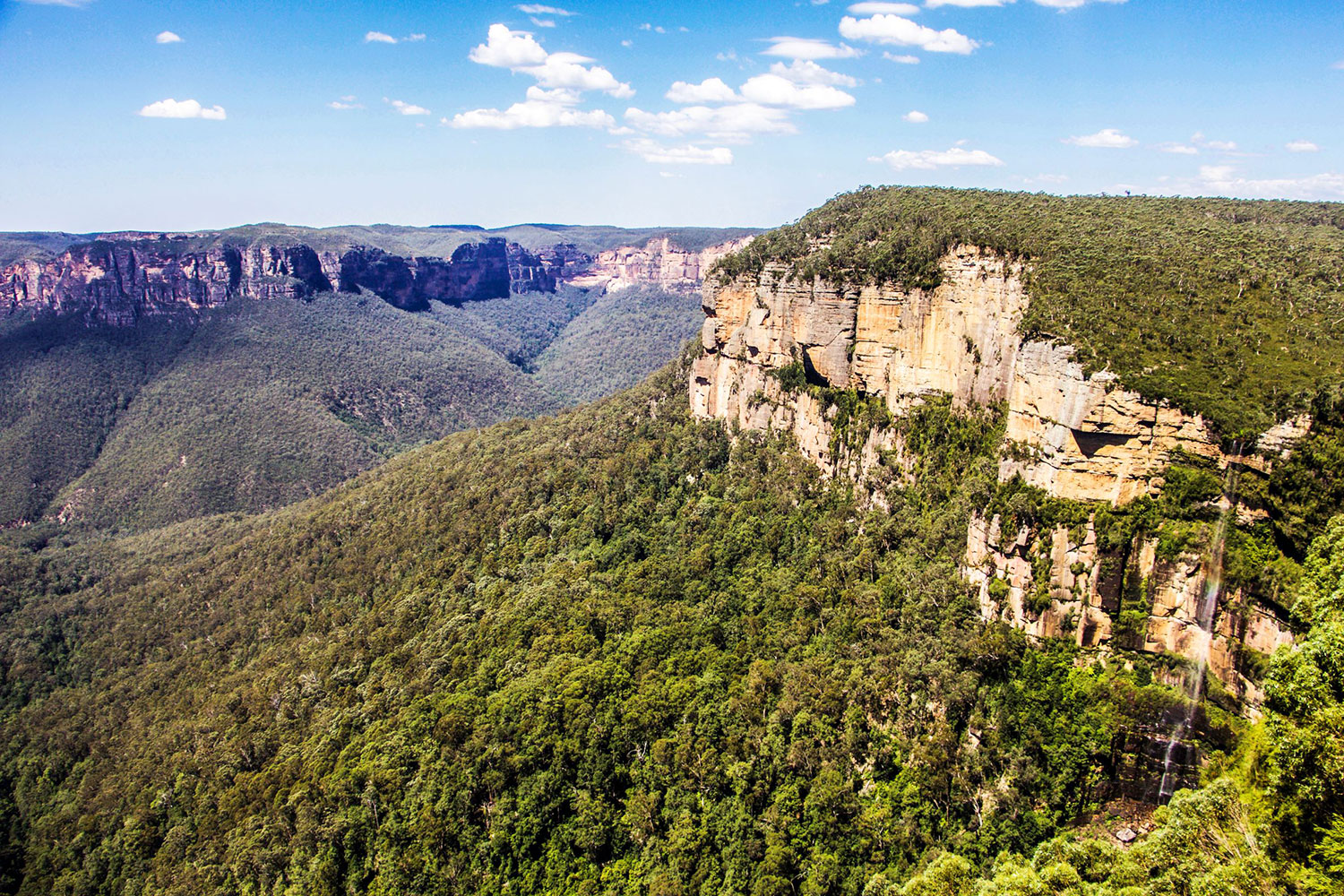 blue mountains tour secluded lookouts