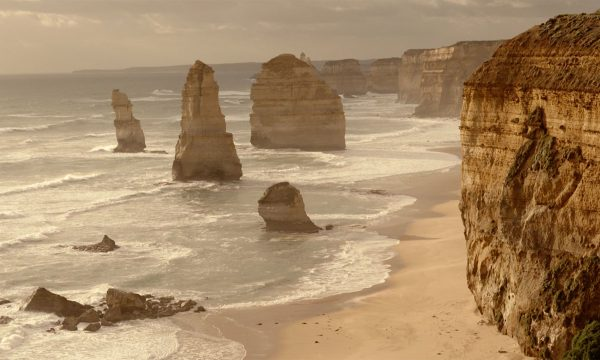Walk high above the ocean witnessing the incredible 12 Apostles