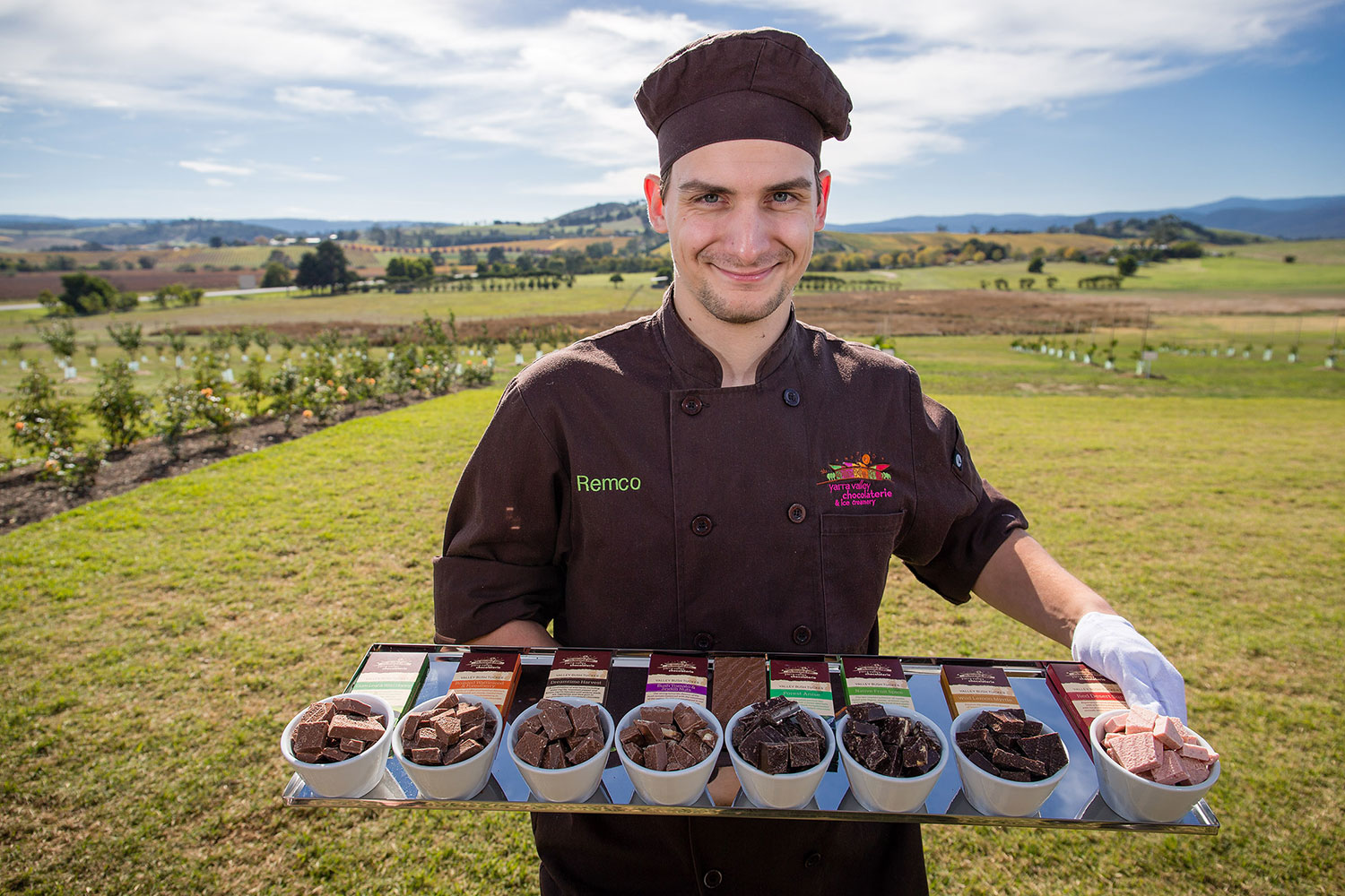 melbourne snow tour visits the yarra valley chocolaterie