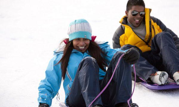melbourne snow tour tobogganing