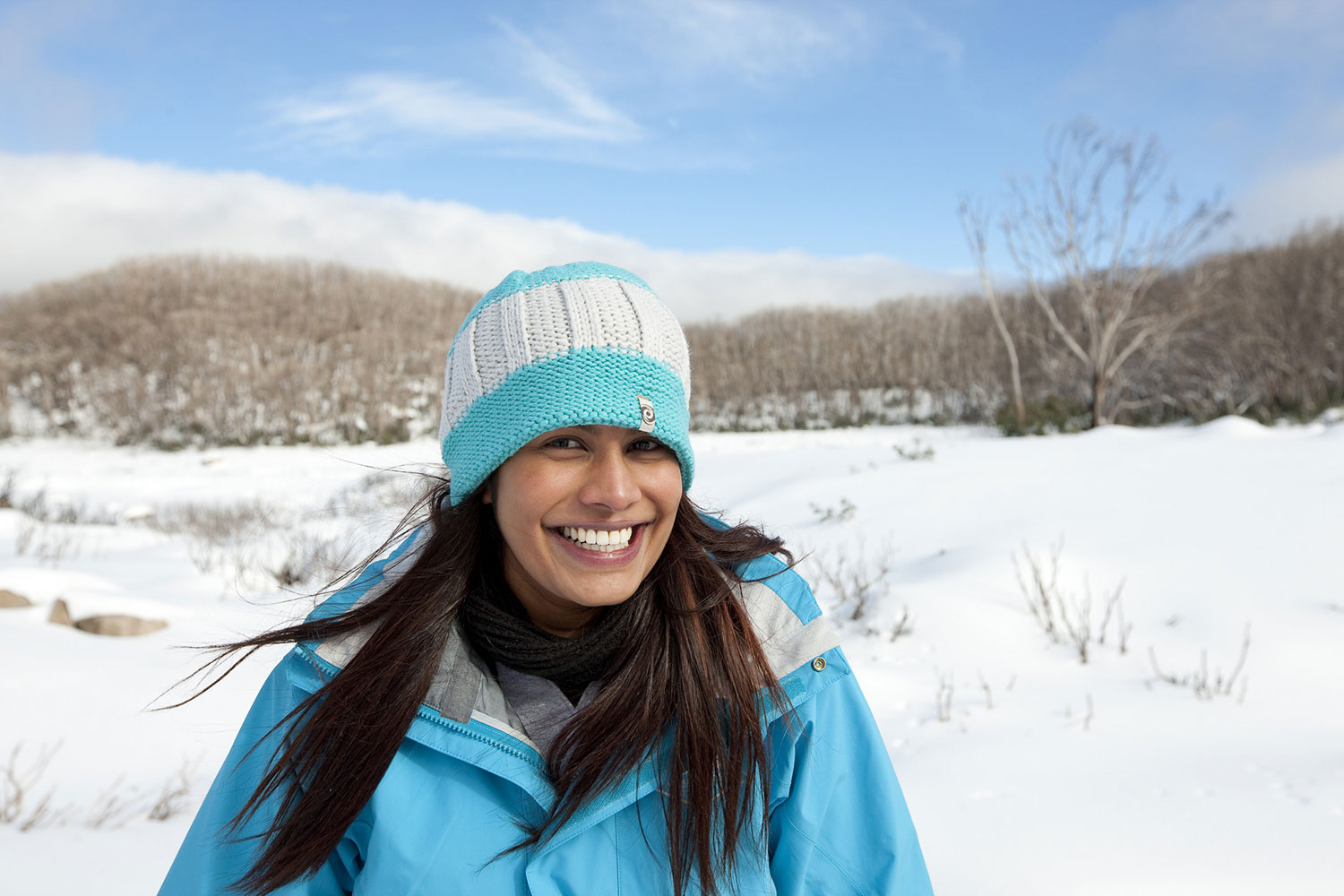 hike in the snow on this melbourne snow tour